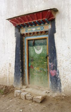 Tibetian moon door, ceremony backdrop inspiration
