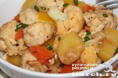 Овощное рагу с куриными фрикадельками, headline vtorye blyuda iz pticy vtorye…
