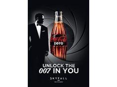 007 Skyfall- Coca Cola limited edition