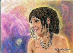 Constellation - Portrait  - Pastel