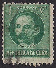 Cuba Postage Stamp, 1917 - José Martí