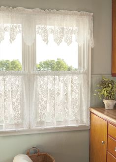 Unique Tips: Kitchen Blinds Striped shutter blinds office.Kitchen Blinds With Valance outdoor blinds drop cloths.Roman Blinds And Curtains. Decor, Lace Curtains, Curtains Living Room, Cafe Curtains, Home, Living Room Blinds, Curtain Decor, Curtain Designs, Shabby Chic Kitchen