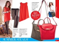 eBrochure   AVON I have both the top and pants and love this outfit. very comfy AND stylish!! www.youravon.com/lalbrecht