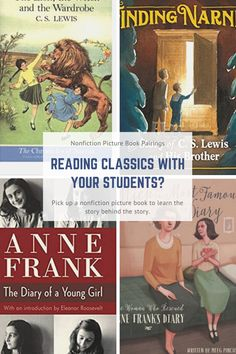 I just finished two wonderful nonfiction picture books that reveal how two classic children's books came to be. And that made me think about what fun it would be to pair these picture book biographies with the children's classics in the classroom.