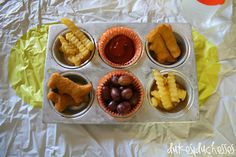 Muffin tin meal for family game night #DipDipHooray