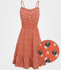 its an owl dress!!