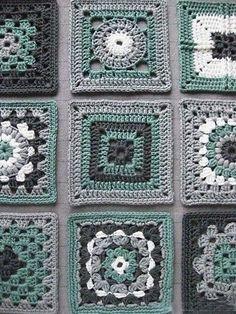Transcendent Crochet a Solid Granny Square Ideas. Inconceivable Crochet a Solid Granny Square Ideas. Granny Square Crochet Pattern, Crochet Blocks, Crochet Squares, Crochet Blanket Patterns, Crochet Granny, Crochet Motif, Diy Crochet, Crochet Crafts, Crochet Stitches