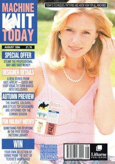 Machine Knit Today Magazine 1994.08 Free PDF Download 300dpi ClearScan OCR