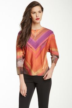 Stassii Woven Blouse by Ted Baker on @HauteLook