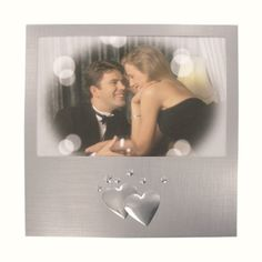 Find x Silver Brushed Double Heart Photo Frame at Wholesale Favors, along with other wedding favors and personalized gifts. Unique Party Favors, Inexpensive Wedding Favors, Customized Gifts, Personalized Gifts, Anniversary Favors, Personalized Picture Frames, Photo Heart, Bridesmaid Gifts, Valentine Day Gifts