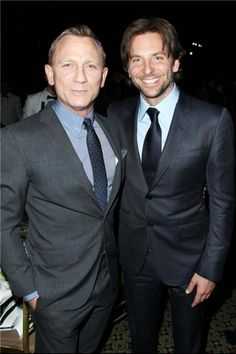Parties — Daniel Craig and Bradley Cooper at National Board of Review Awards