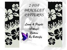 Flower Loom & Peyote (4 drop) Pattern BT-067.1