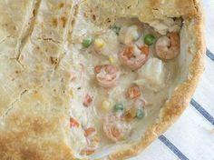 Creamy Seafood Pot Pie