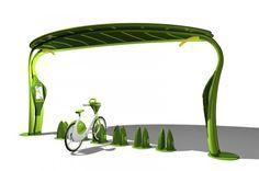 Lotus E-bike recharge station
