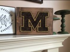 A personal favorite from my Etsy shop https://www.etsy.com/listing/450190768/made-to-order-mizzou-tigers-string-art