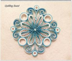 Quilling • ornament