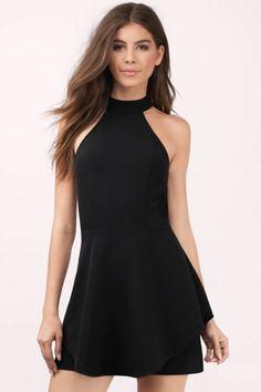 Poppy Layered Skater Dress at Tobi.com #shoptobi