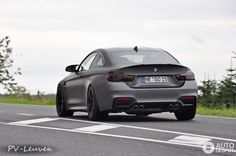 BMW M4 Frozen Grey