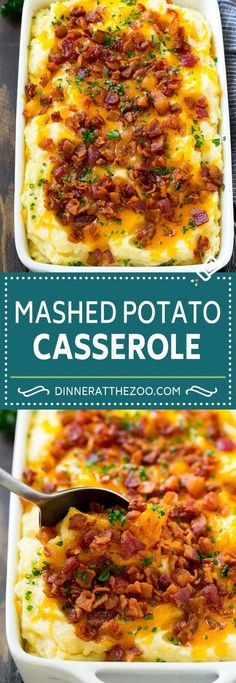 Lower Excess Fat Rooster Recipes That Basically Prime Loaded Mashed Potato Casserole Recipe Loaded Potatoes Bacon Mashed Potatoes Thanksgiving Mashed Potatoes Bacon Mashed Potatoes, Loaded Mashed Potato Casserole, Mashed Potato Recipes, Potato Dishes, Food Dishes, Cheese Potato Casserole, Recipe For Potato Casserole, Potato Caserole, Smash Potatoes