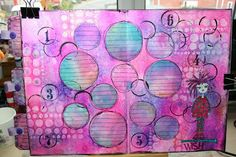 Journal Page by Carol Fox | That's Blogging Crafty!