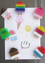 Oh, Popsicles- Perler Magnets by TheDarlingMonster.deviantart.com on @deviantART