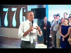 The President Visits 1776 to Talk About the Economy