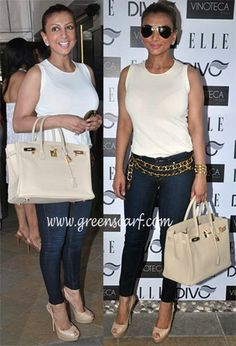 Ramona Narang glams up a basic white tank