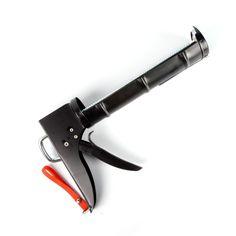 Pistola silicona cremallera - Pistola para la aplicación de sellantes y siliconas. Apto para construcción, bricolaje, carpintería y montajes de todo tipo.