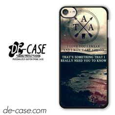 The Amity Affliction Quote DEAL-10630 Apple Phonecase Cover For Ipod Touch 6