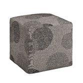 Found it at Wayfair - Axis Sunflower Cube Ottoman