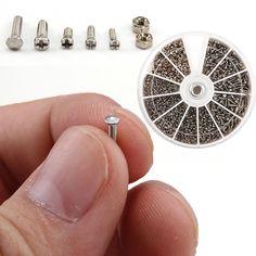 $4.80 (Buy here: https://alitems.com/g/1e8d114494ebda23ff8b16525dc3e8/?i=5&ulp=https%3A%2F%2Fwww.aliexpress.com%2Fitem%2FHigh-Quality-1000pcs-set-Assorted-Fasteners-Screws-For-Watch-Clock-Eye-Glasses-Watchmaker-Repair-Part-Tool%2F32600695240.html ) High Quality 1000pcs/set Assorted  Fasteners Screws For Watch Clock Eye Glasses Watchmaker Repair Part Tool for just $4.80