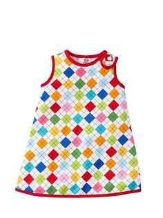 Diamond Print Sleeveless Dress