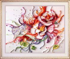Marcia Batoni - Artes Visuais: *Yulia Brodskaya - Quilling