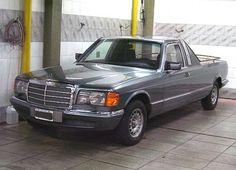 Mercedes Benz 560SEL W126 Pickup / Custom