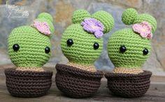 cactus amigurumi free crochet pattern with video tutorial