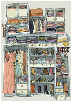 """Clothes"" - drawn by Kristine Agøy Sand Illustration Sketches, Illustrations, Drawing Sketches, Art Drawings, House Drawing, Love Art, Art Inspo, Amazing Art, Fashion Art"