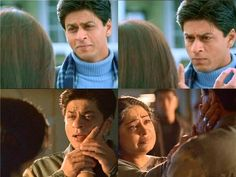 Touching moments of Main Hoon Na Shah Rukh Khan Movies, Shahrukh Khan, Main Hoon Na, Just Love, Bollywood, In This Moment, Couple Photos, Twitter, Couples