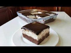 Εύκολη πάστα ταψιού με σοκολάτα και σαντιγί!! - YouTube Chocolate Art, Chocolate Cream, Dessert Recipes, Desserts, Greek Recipes, Whipped Cream, Tiramisu, Yummy Food, Sweets