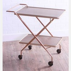 Vintage Serving Cart, $159, now featured on Fab.