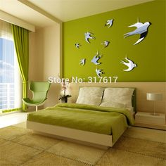 ufengke XLarge King of Birds Purple Flower Vine and Peacock Wall Decals Living Room Bedroom Removable Wall Stickers Murals Set of 2 Sheets >>> Continue to the product at the image link. Wall Stickers Peacock, Peacock Wall Decor, Removable Wall Stickers, Flower Wall Stickers, Wall Stickers Murals, Vinyl Wall Decals, Wall Murals, Wall Art, Bird Bedroom