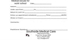 Fake Doctors Note Print Out | Fake Doctors Note Template, Doctor Notes For Free