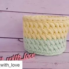 "793 Likes, 5 Comments - @ayfermorkaya  (@applewhitecrochet) on Instagram: ""By @polli_with_love  @polli_with_love @polli_with_love  First part #haken #handmadebasket…"""
