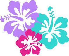 hawaiian flower clip art tropical plants clip art vector clip art rh pinterest com hawaiian flower clip art free images hawaiian flower clip art borders