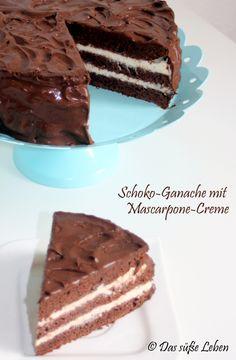 Ganache Torte, Mascarpone Creme, Tiramisu, Sweets, Ethnic Recipes, Desserts, Chocolate Pies, Ganache Recipe, Life