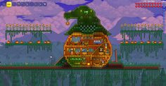 Decided to try my hand at a pumpkin house!<<< THIS LOOKS AWESOME