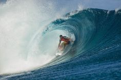 Despite a second place finish, Tahiti was anything but easy for 2012 World Champion Joel Parkinson. Here are the 10 best World Tour heats of 2012. #surferphotos #surfer