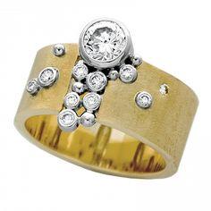 .73ct diamond gap fade hybrid - View #1