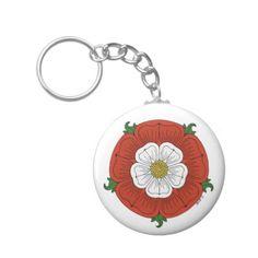Tudor Rose Keychain