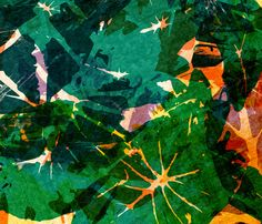 Calladium Remix // Allison Holdridge #tropical #foliage #print
