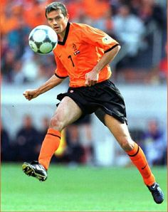 Phillip Cocu of Holland in action at Euro '2000.